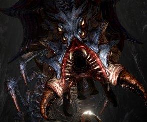 Гоблин против жуткого монстра на скриншотах Styx: Shards of Darkness