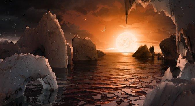 Как Интернет отреагировал на конференцию NASA и 7 найденных планет