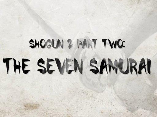 Total War: Shogun 2. Дневники разработчиков, часть 2