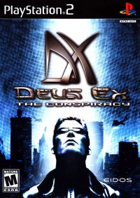 Обложка Deus Ex: The Conspiracy