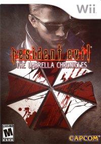 Обложка Resident Evil: The Umbrella Chronicles