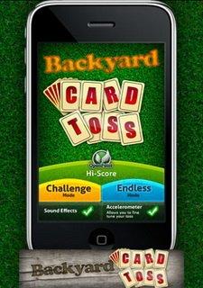 Backyard Card Toss