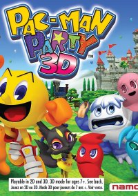 Pac-Man Party 3D – фото обложки игры
