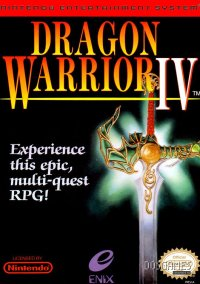 Обложка Dragon Warrior IV