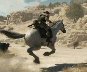 Первый DLC для The Phantom Pain приоденет Снейка и его лошадь
