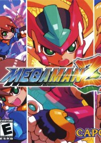 Обложка Mega Man ZX