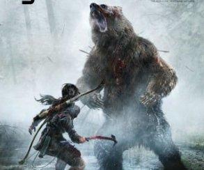 Лара Крофт покоряет Сибирь: обложка Game Informer