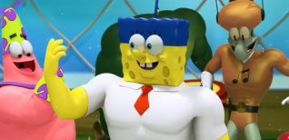 SpongeBob HeroPants. Видео #1