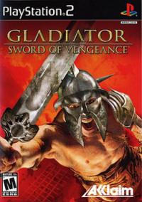Обложка Gladiator: Sword of Vengeance