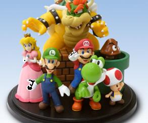 Nintendo выпустит NFC-фигурки своих персонажей для Wii U и 3DS