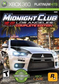 Обложка Midnight Club: Los Angeles -- Complete Edition
