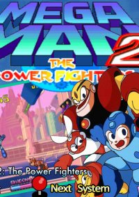 Обложка Mega Man 2: The Power Fighters