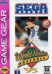 Обложка World Series Baseball '95
