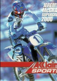 Обложка Jeremy McGrath Supercross 2000