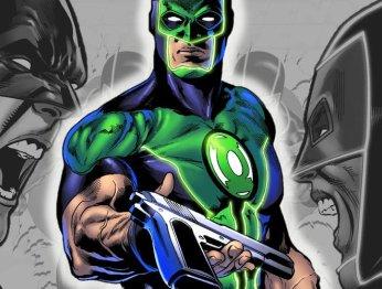 Зеленому фонарю больше не нужен пистолет, и все благодаря Бэтмену