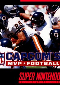 Обложка Capcom's MVP Football