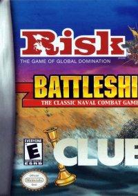 Risk, Battleship, Clue – фото обложки игры