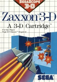 Обложка Zaxxon 3-D