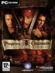 Обложка Pirates of the Caribbean: The Legend of Jack Sparrow