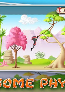 Ninja Jump Kid - Super Fun Stick-man Run Action Game For Kids PRO
