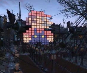 Лабиринт в Fallout 4 играет музыку из Super Mario Bros.