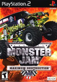 Обложка Monster Jam: Maximum Destruction