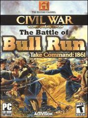 History Channel's Civil War: The Battle of Bull Run – фото обложки игры