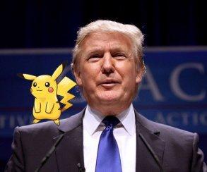 Покемоны стали оружием в американской предвыборной гонке