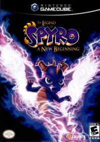 Обложка The Legend of Spyro: A New Beginning