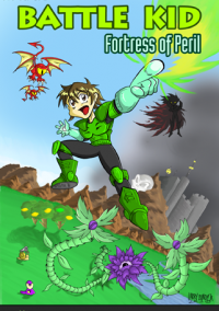 Обложка Battle Kid: Fortress of Peril