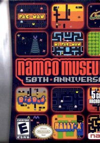 Namco Museum 50th Anniversary – фото обложки игры