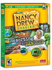 Обложка Nancy Drew Dossier: Resorting to Danger