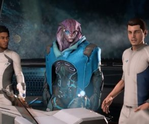Познакомьтесь с Джаалом, вашим напарником в Mass Effect: Andromeda