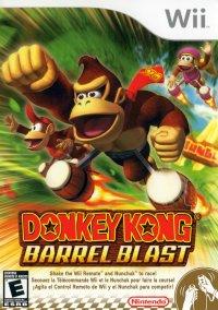 Обложка Donkey Kong: Barrel Blast