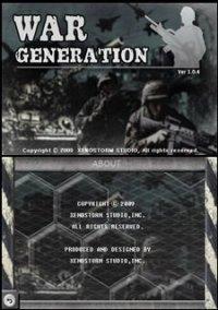 Обложка War Generation