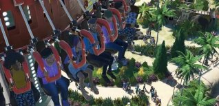 Planet Coaster . Геймплейный трейлер