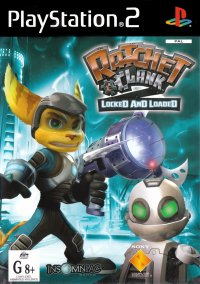 Обложка Ratchet & Clank: Locked and Loaded