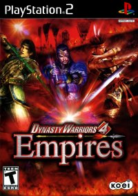 Обложка Dynasty Warriors 4: Empires