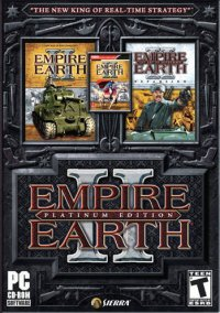 Обложка Empire Earth II: Platinum Edition