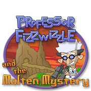 Обложка Professor Fizzwizzle and the Molten Mystery