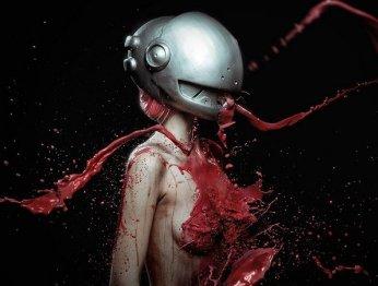 Фонтаны крови: косплей Люси из «Эльфийской песни»