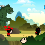 Скриншот Pucca's Kisses Game – Изображение 6