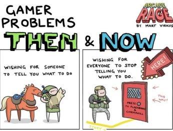 Проблемы геймеров впрошлом исейчас