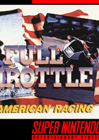 Обложка Full Throttle: All-American Racing