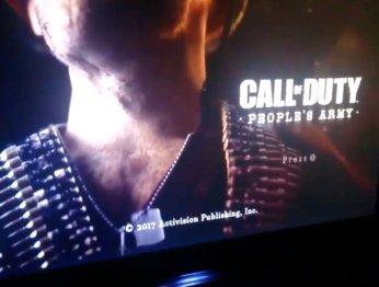 Новая Call of Duty может называться People's Army