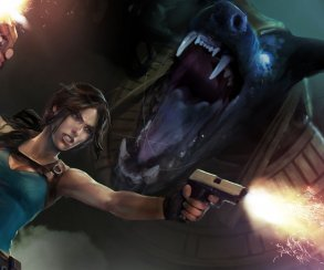Змея плюет огнем в трейлере Lara Croft and the Temple of Osiris