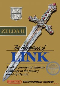 Обложка Zelda II: The Adventure of Link
