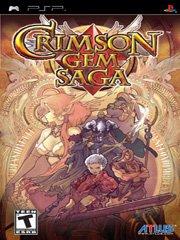Обложка Crimson Gem Saga