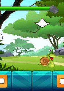 Save the Little Snail Venture - A Falling Rock Avoiding Game