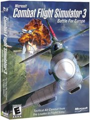 Обложка Microsoft Combat Flight Simulator 3: Battle for Europe